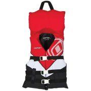 Спасательный жилет юношеский с воротником для мальчиков O'Brien Youth Nylon w/ Collar Red