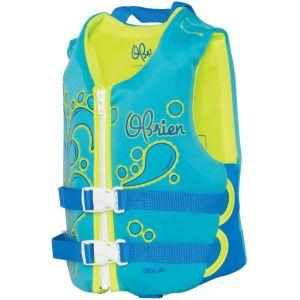 Спасательный жилет детский для девочек O'Brien Child Aqua Neo