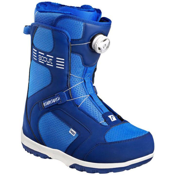 Купите Ботинки для сноуборда Head Scout Pro Boa blue 2018