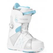 Ботинки для сноуборда Nidecker TRANSIT W BOA WHITE 2018