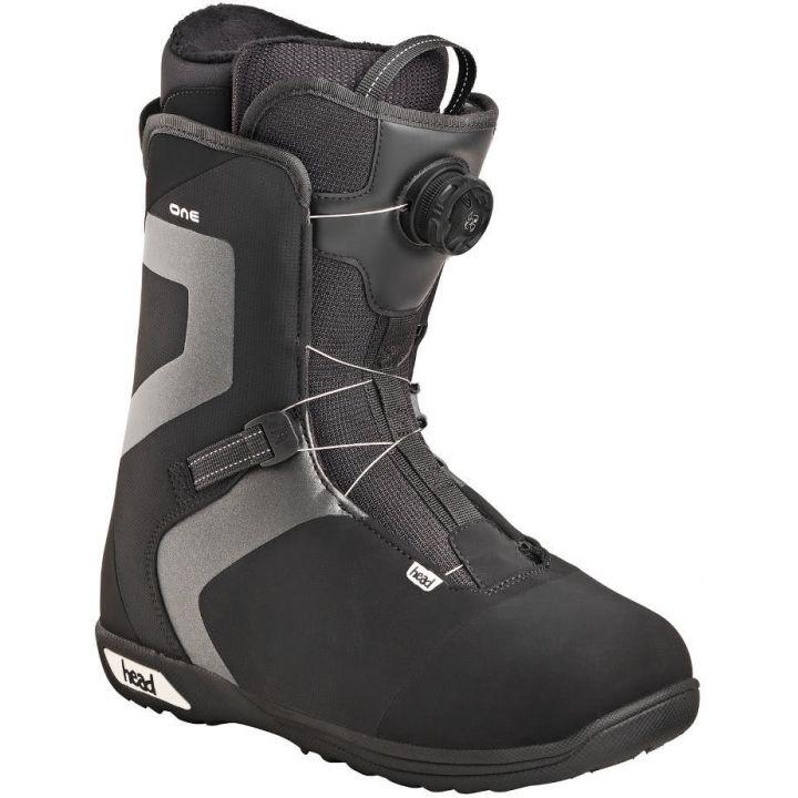Купите Ботинки для сноуборда Head One Boa black/grey 2018