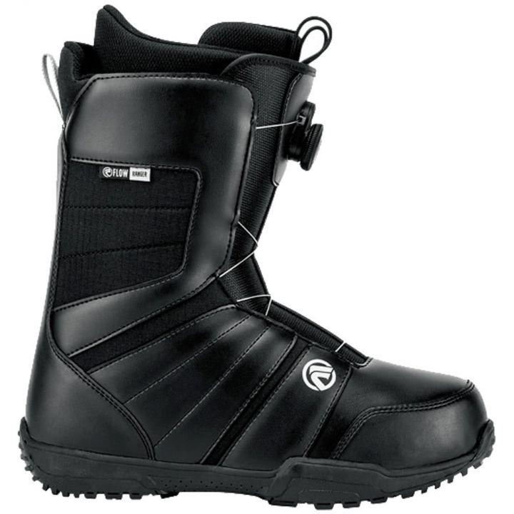 Купите Ботинки для сноуборда Flow Ranger Black 2018