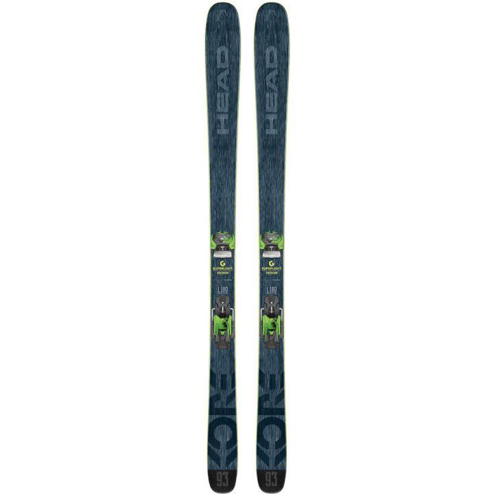 Купите Горные лыжи Head Kore 93 + Крепления Attack14 AT 2018