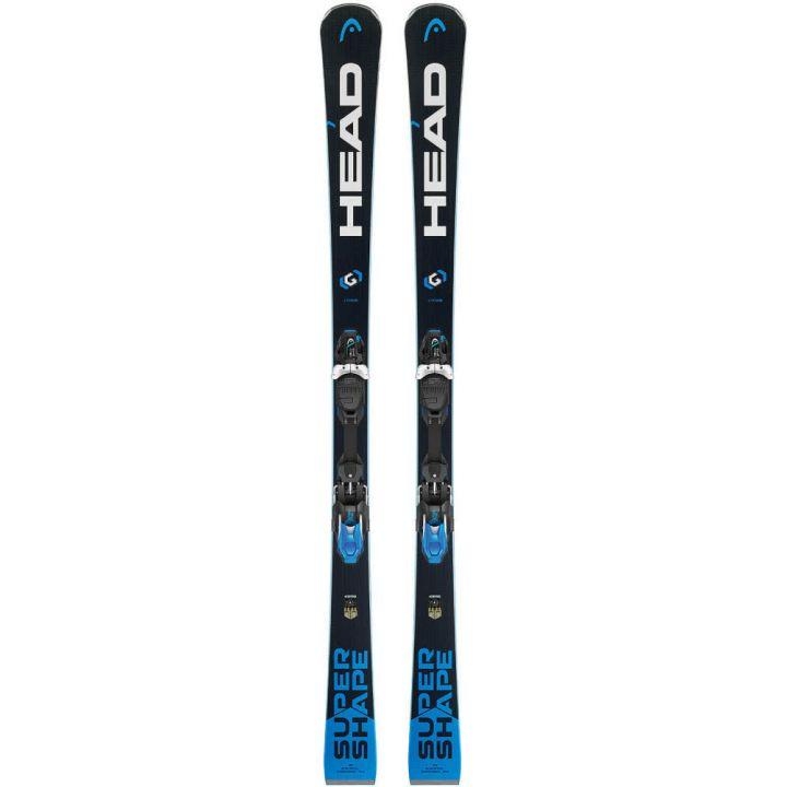 Купите Горные лыжи Head Supershape i.Titan MFPR + Крепления PRD 12 2018