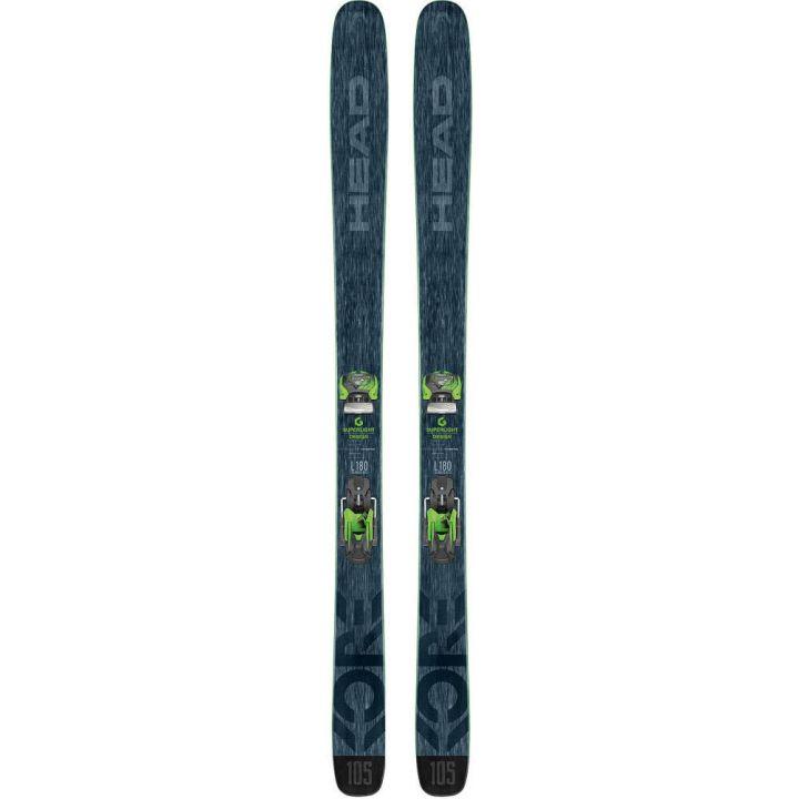 Купите Горные лыжи Head Kore 105 + Крепления Attack14 AT 2018