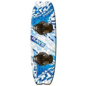 Комплект вейкборд Rave Sports FreeStyle Wakeboard with Striker Boots + фал