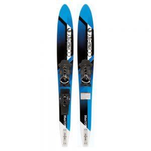 Водные лыжи Connelly Eclypse с креплениями на шнурках Swerve Lace