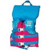 Спасательный жилет детский с воротником для девочек O'Brien Child Nylon w/ Collar Pink