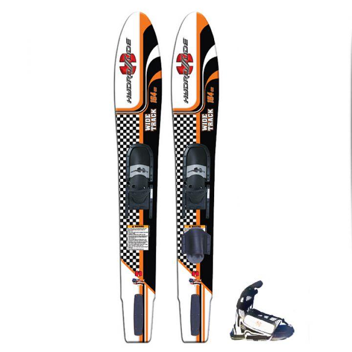 Водные лыжи Hydroslide Wide Track с креплениями на шнурках